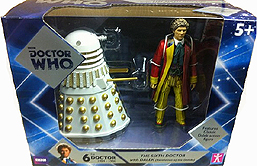 Sixth Doctor with Dalek